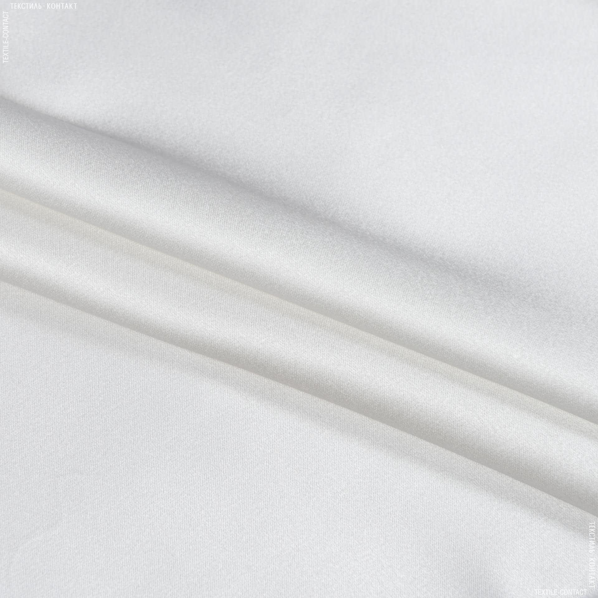 Тканини для білизни - Атлас стрейч білий