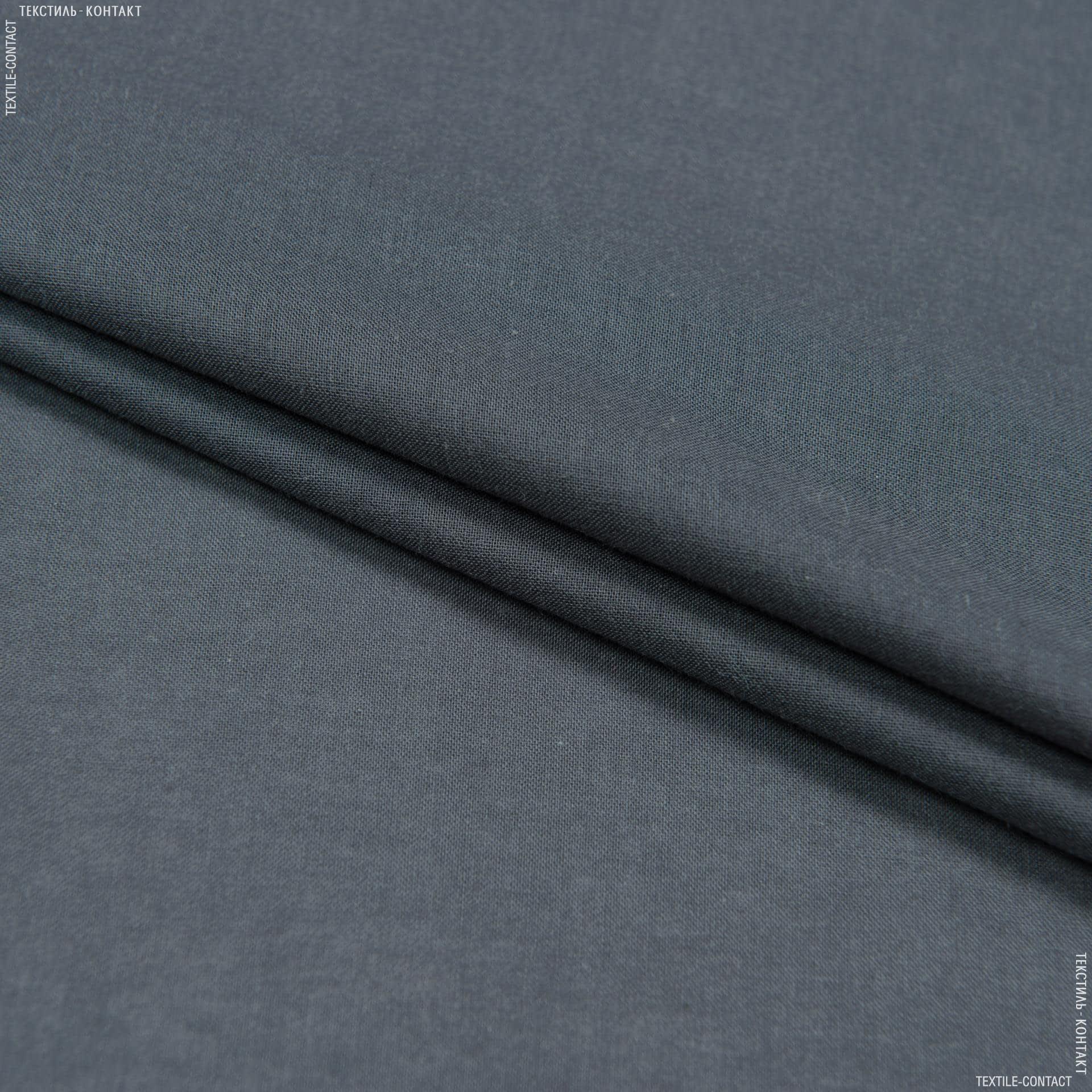 Тканини для дитячого одягу - Батист темно-сірий