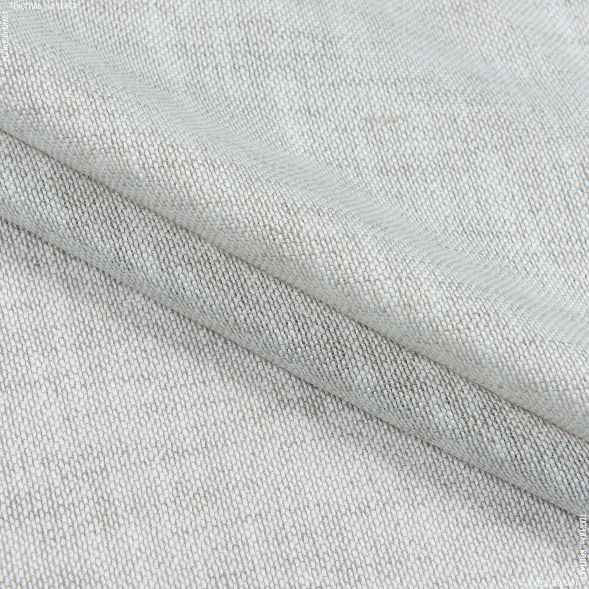 Ткани портьерные ткани - Декоративная ткань СИВАРА св.серый/беж