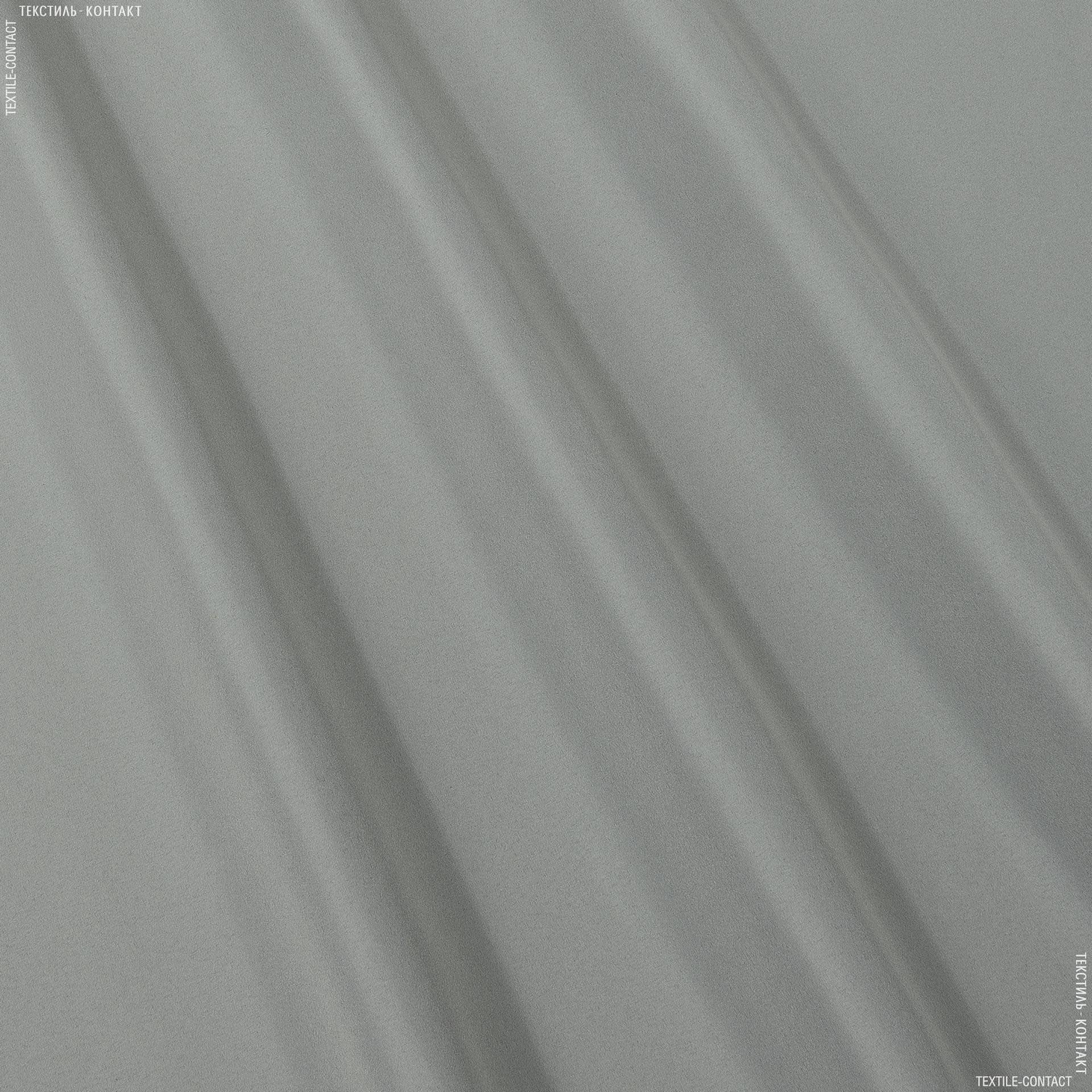 Ткани для верхней одежды - Плащевая бондинг серый