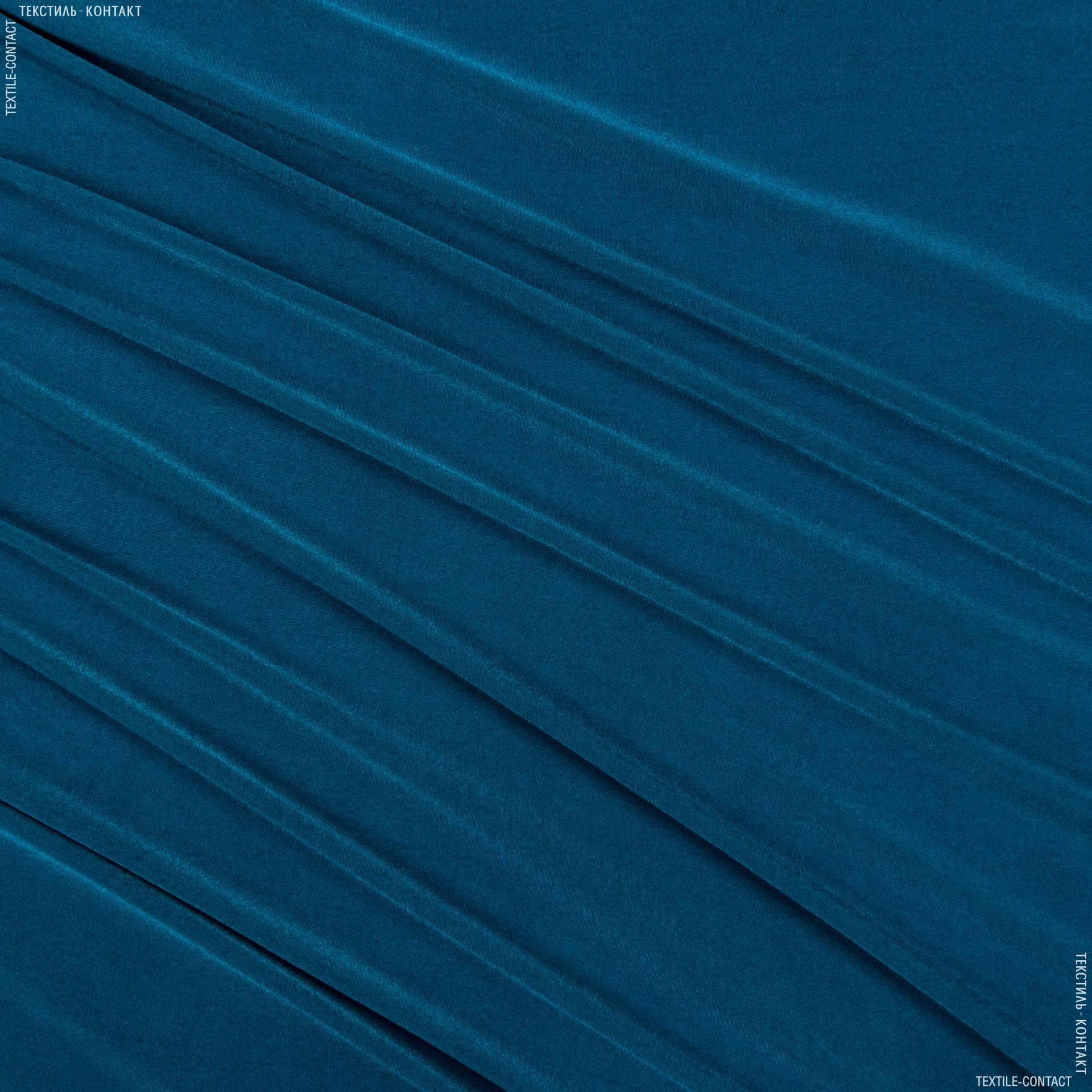 Тканини для костюмів - Трикотаж жасмін морська хвиля