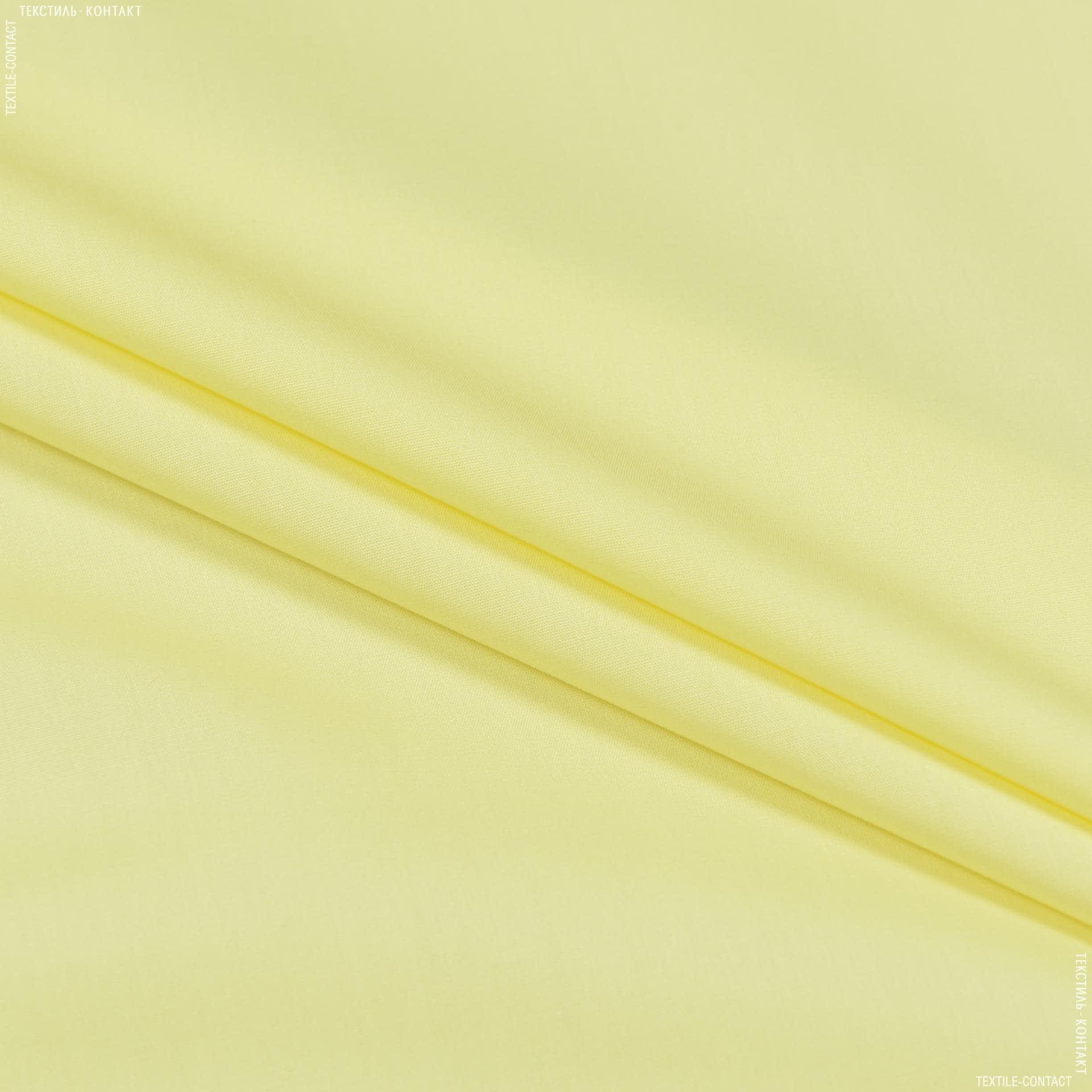 Тканини для суконь - Сорочкова світло-лимонний