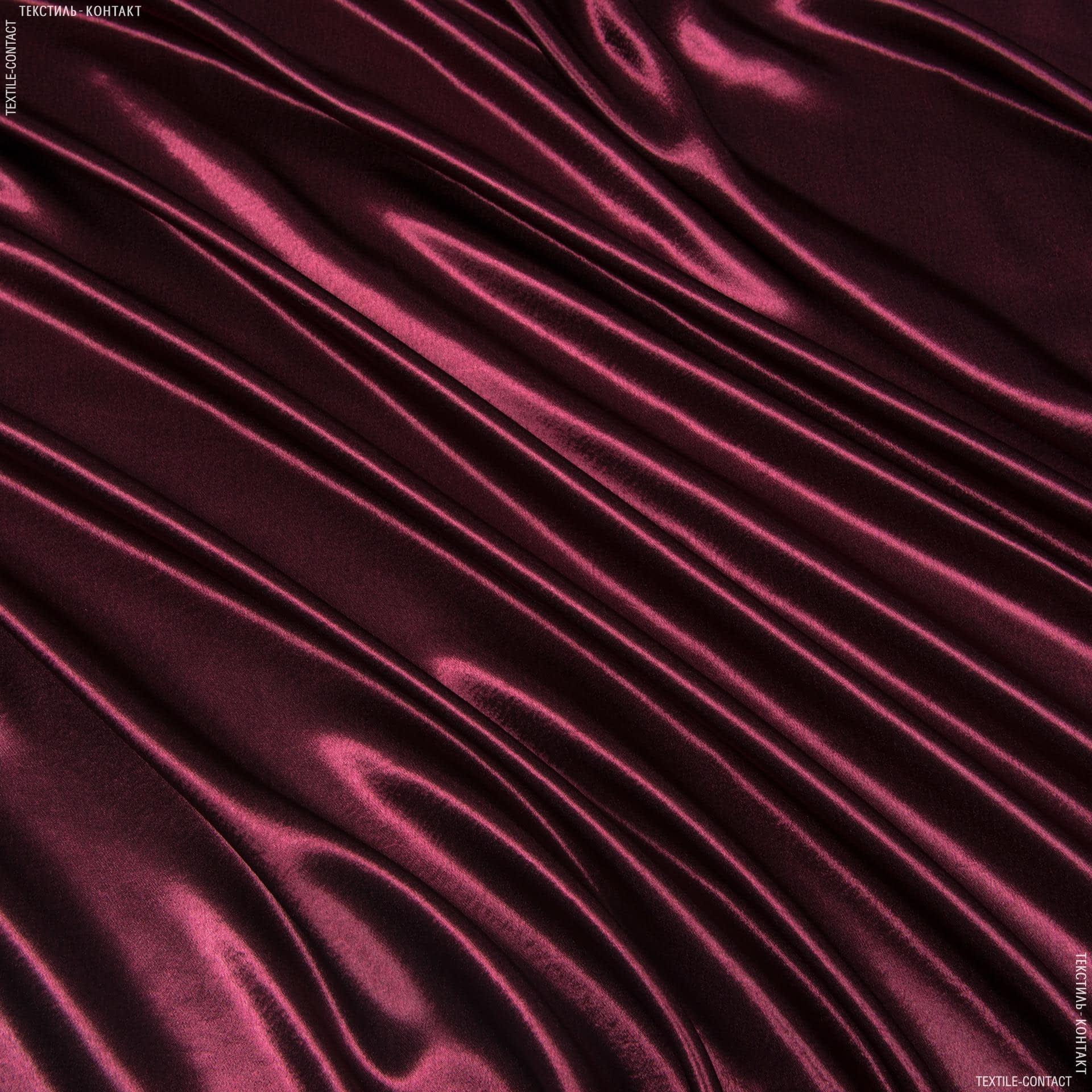 Тканини для банкетних і фуршетніх спідниць - Креп-сатин бордовий