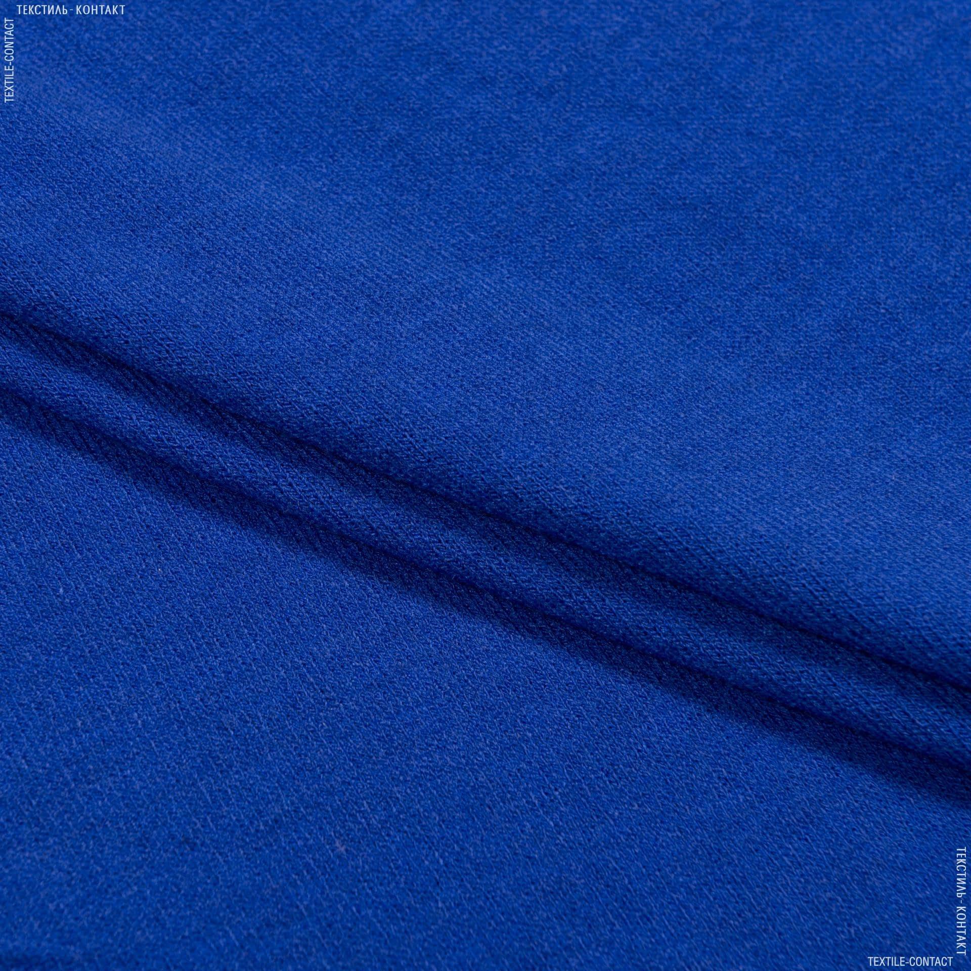 Ткани для костюмов - Трикотаж ангора электрик