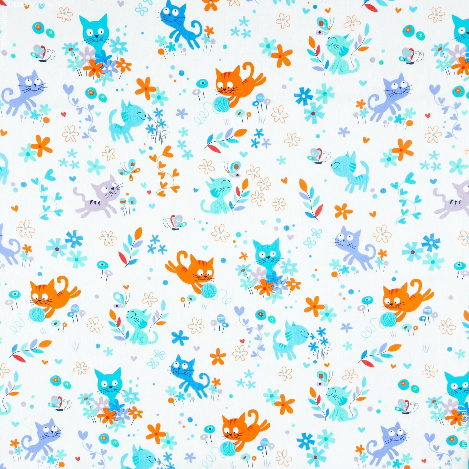 Ткани для детского постельного белья - Бязь набивная детская миледи