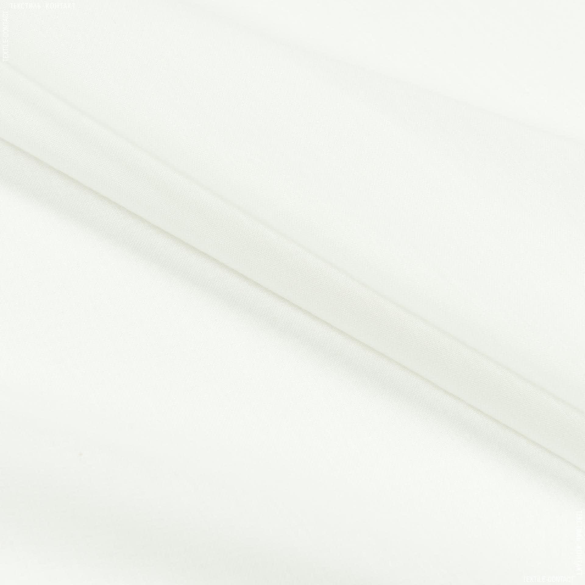 Тканини для драпірування стін і стель - Тюль батист гавана з обважнювачем молочний