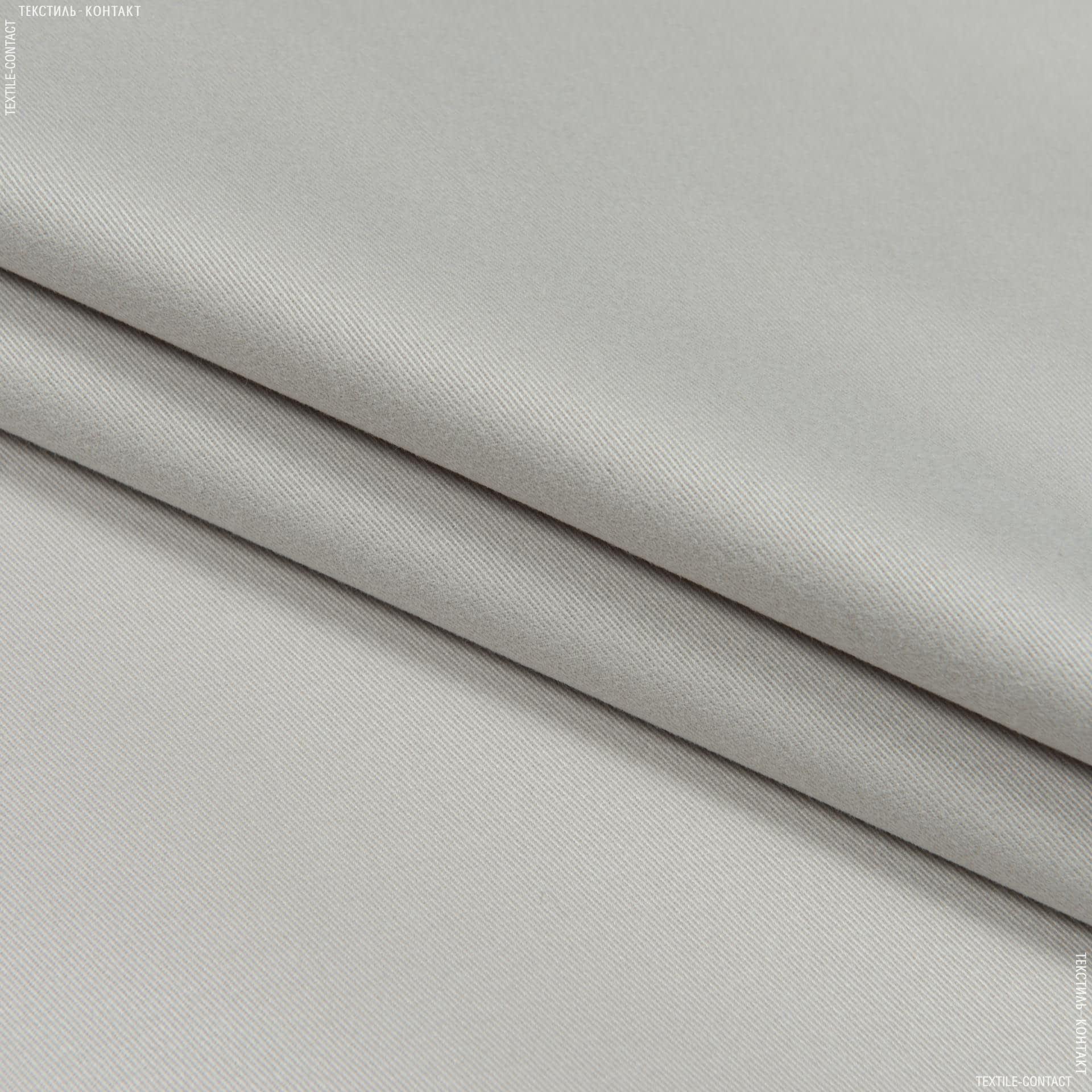 Тканини для банкетних і фуршетніх спідниць - Декоративний сатин гандія/gandia св.сірий