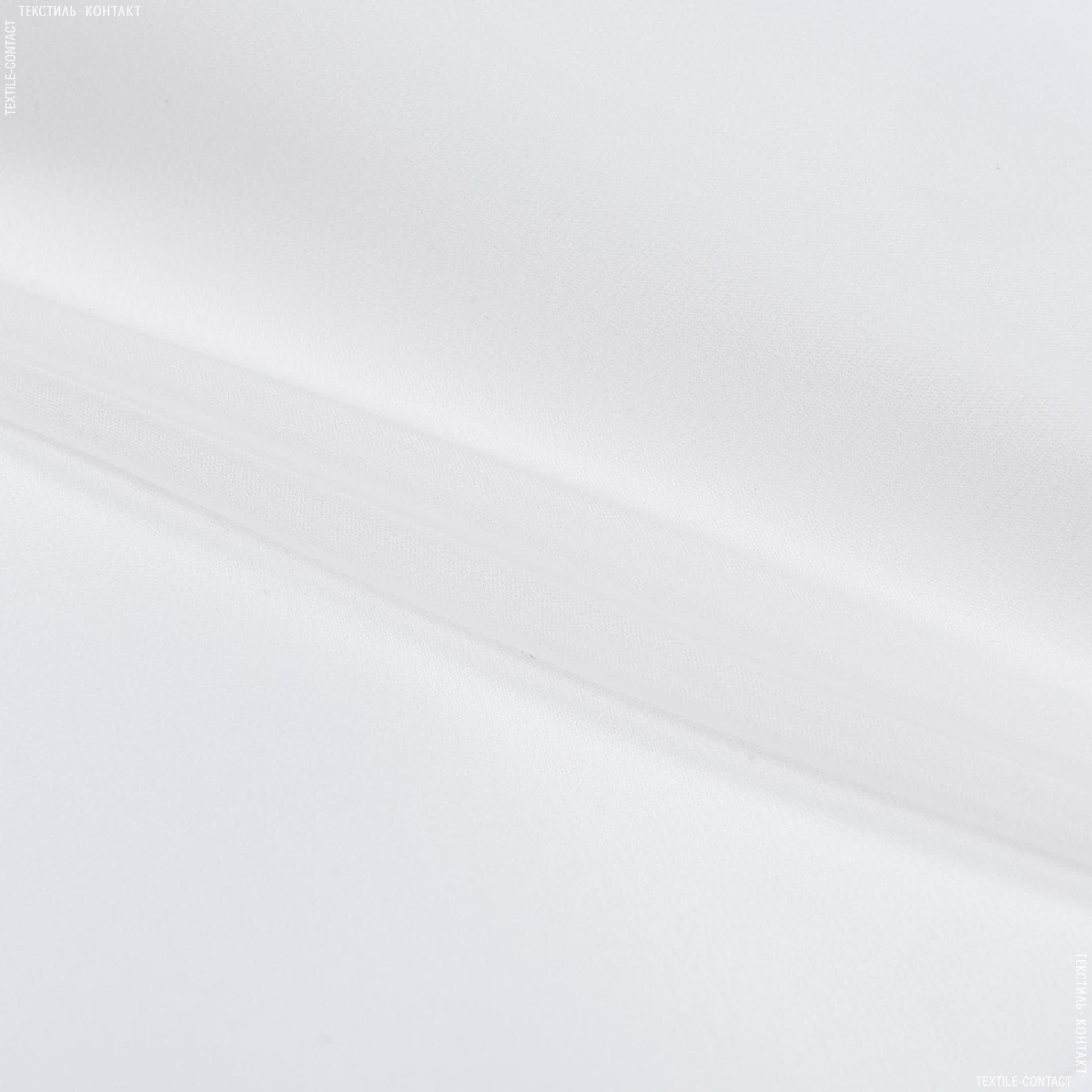 Ткани для платьев - Шелк-органза плотный белый