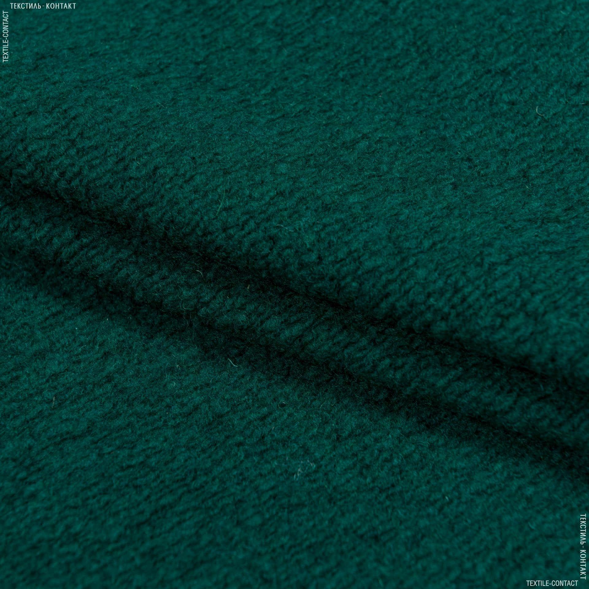 Ткани для верхней одежды - Трикотаж букле изумрудный