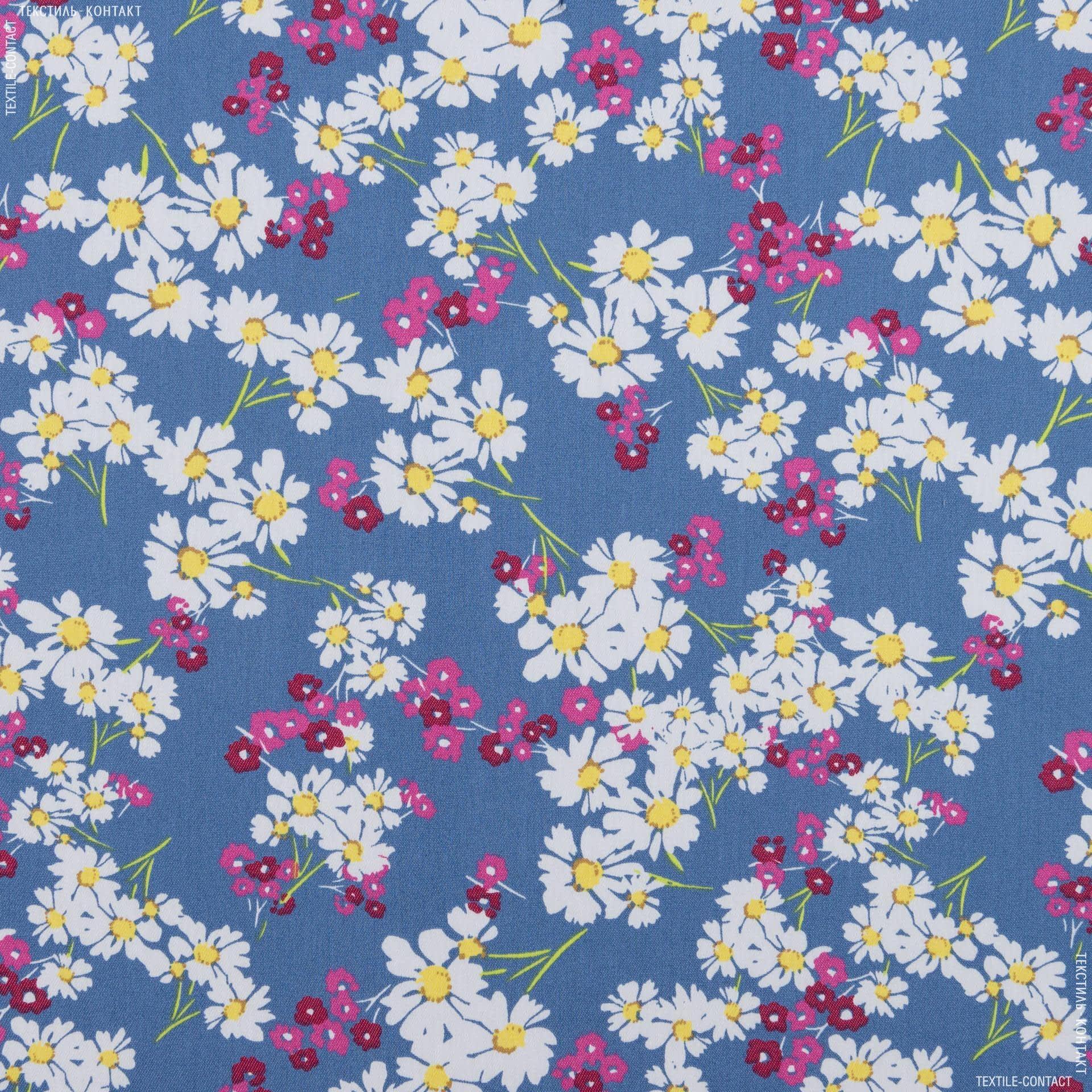 Ткани для платьев - Коттон лайт стрейч принт