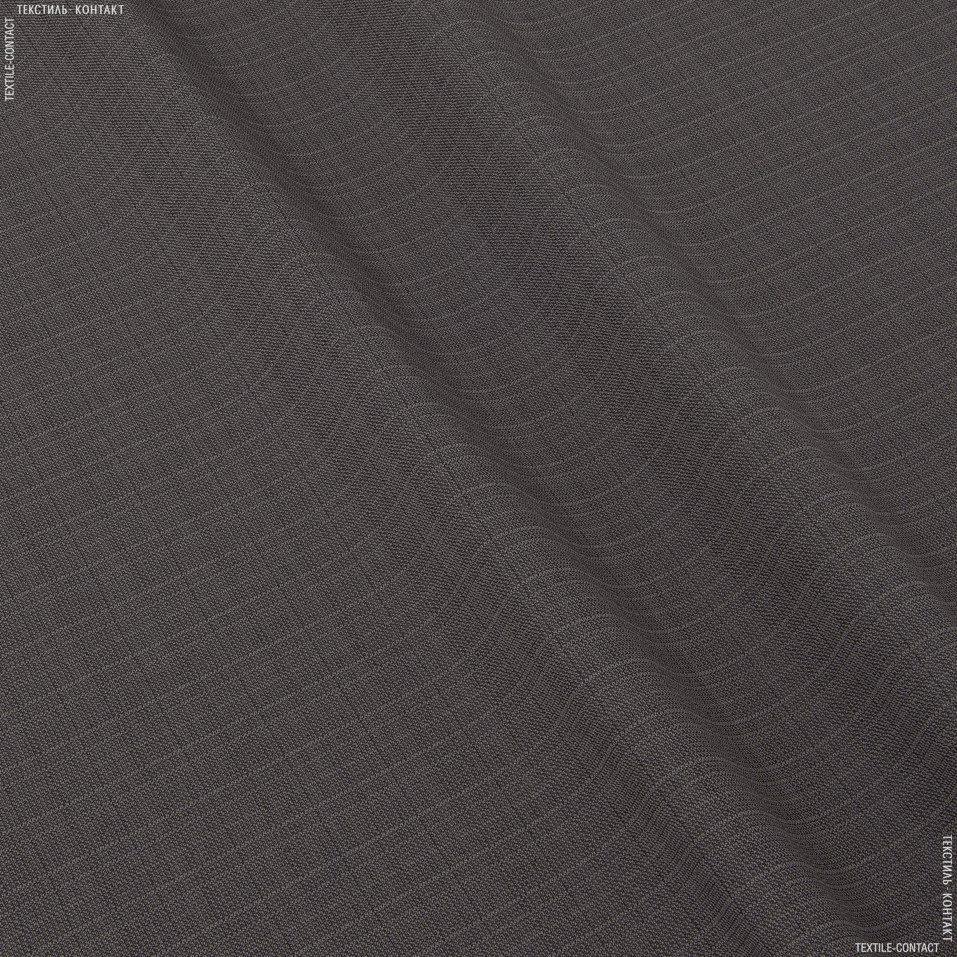 Ткани портьерные ткани - Рогожка зели  какао